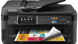 Epson WorkForce WF-7610 Wireless Printer Setup, Software & Driver