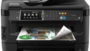 epson workforce wf-7620dtwf Wireless Printer Setup, Software & Driver